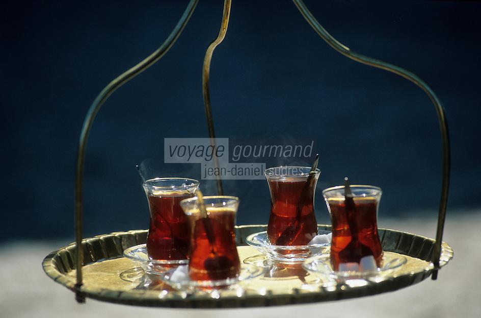 Europe/Turquie/Istanbul : Porteur de thé