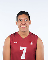 Stanford, Ca - October 10, 2017: The 2017-2018 Stanford Cardinal Men's Volleyball Team