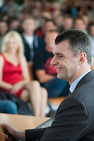 Mikhail Prokhorov At Moscow State University