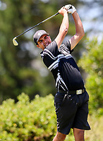 Mako Thompson of Hawkes Bay. Day One of the Toro Interprovincial Men's Championship, Mangawhai Golf Club, Mangawhai,  New Zealand. Tuesday 5 December 2017. Photo: Simon Watts/www.bwmedia.co.nz