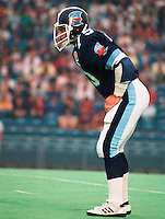 Mike Emery Toronto Argonauts 1984. Photo Scott Grant