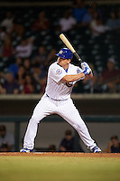 Mesa Solar Sox designated hitter Kyle Schwarber (66), of the Chicago Cubs, at bat in the bottom of the fourth inning during a game against the Salt River Rafters on October 22, 2016 at Sloan Park in Mesa, Arizona.  It was the first game action for Schwarber who was injured April 7th and underwent surgery to repair two ligament tears in his left knee.  Salt River defeated Mesa 7-2.  (Mike Janes/Four Seam Images)
