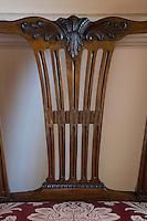 Detail of an Alexander Peter chairback