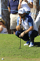 Andy Sullivan (ENG) at the 10th green during Thursday's Round 1 of the 2018 Turkish Airlines Open hosted by Regnum Carya Golf &amp; Spa Resort, Antalya, Turkey. 1st November 2018.<br /> Picture: Eoin Clarke | Golffile<br /> <br /> <br /> All photos usage must carry mandatory copyright credit (&copy; Golffile | Eoin Clarke)