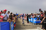 Thibaut Pinot (FRA) FDJ at sign on before Stage 2 of the 100th edition of the Giro d'Italia 2017, running 221km from Olbia to Tortoli, Sardinia, Italy. 6th May 2017.<br /> Picture: Ann Clarke | Cyclefile<br /> <br /> <br /> All photos usage must carry mandatory copyright credit (&copy; Cyclefile | Ann Clarke)