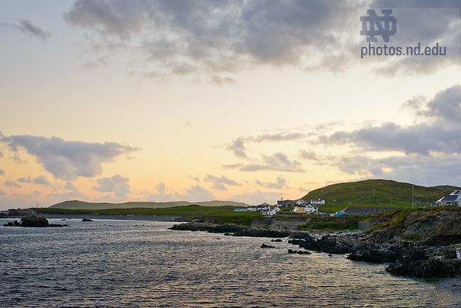 June 8, 2012; Inishbofin, Ireland..Photo by Matt Cashore/University of Notre Dame