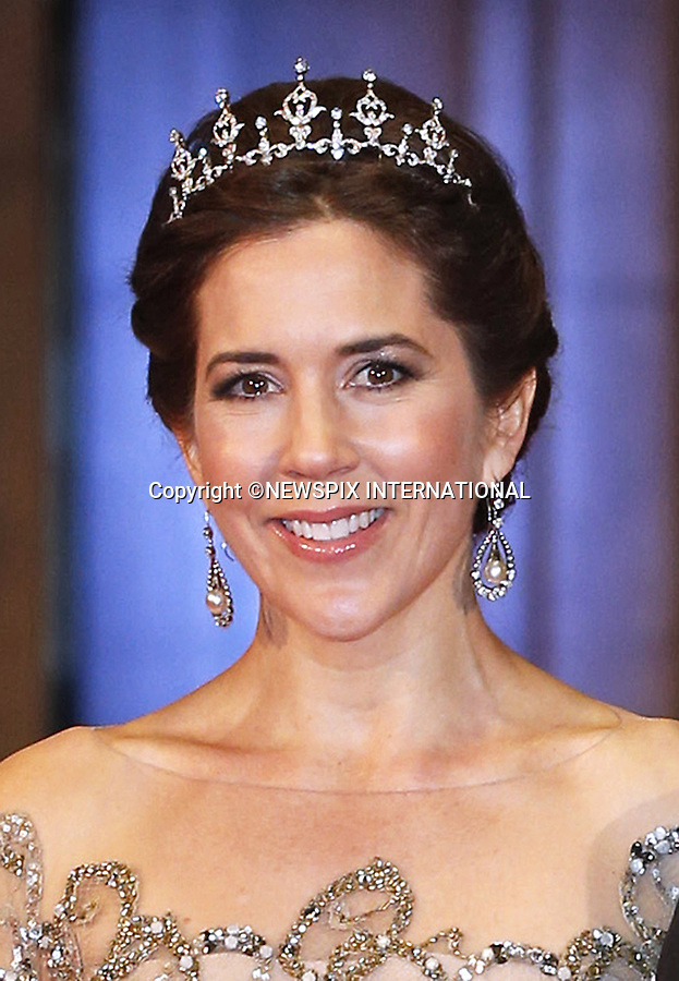 "CROWN PRINCESS MARY OF DENMARK.attends the gala farewell dinner for Queen Beatrix at the Rijksmuseum in Amsterdam, The Netherlands_April 29, 2013..Crown Prince Willem-Alexander and Crown Princess Maxima will be proclaimed King and Queen  of The Netherlands on the abdication of Queen Beatrix on 30th April 2013..Mandatory Credit Photos: ©NEWSPIX INTERNATIONAL..**ALL FEES PAYABLE TO: ""NEWSPIX INTERNATIONAL""**..PHOTO CREDIT MANDATORY!!: NEWSPIX INTERNATIONAL(Failure to credit will incur a surcharge of 100% of reproduction fees)..IMMEDIATE CONFIRMATION OF USAGE REQUIRED:.Newspix International, 31 Chinnery Hill, Bishop's Stortford, ENGLAND CM23 3PS.Tel:+441279 324672  ; Fax: +441279656877.Mobile:  0777568 1153.e-mail: info@newspixinternational.co.uk"