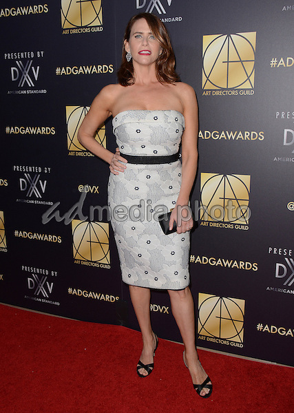 31 January  - Beverly Hills, Ca - Amy Landecker. Arrivals for the Art Director's Guild 20th Annual Production Design Awards held at Beverly Hilton Hotel. Studios. Photo Credit: Birdie Thompson/AdMedia