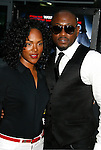 "HOLLYWOOD, CA. - May 20: Omar Epps and guest arrive at the Los Angeles Premiere of ""Dance Flick"" at the ArcLight Theatre on May 20, 2009 in Hollywood, California."