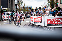 Later race winner Dries de Bondt (BEL/Corendon Circus) leading the breakaway group.<br /> <br />  23th Memorial Rik Van Steenbergen 2019<br /> One Day Race: Beerse > Arendonk 208km (UCI 1.1)<br /> ©kramon