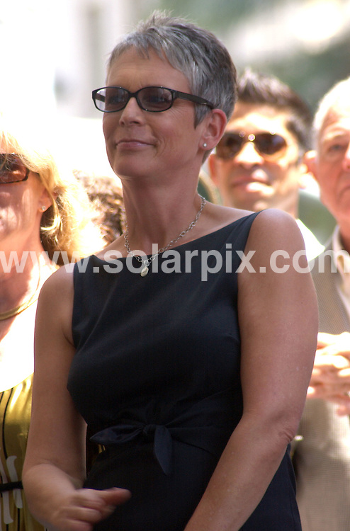 **ALL ROUND PICTURES FROM SOLARPIX.COM**.**SYNDICATION RIGHTS FOR UK, SPAIN, PORTUGAL, AUSTRALIA, S.AFRICA & DUBAI (U.A.E) ONLY**.The Hollywood actress Susan Saint James Honoured With A Star On The Hollywood Walk OF Fame on 1645 Vine Street in Hollywood California in the USA. .This pic:Jamie,Lee,Curtis.JOB REF:6622-PHZ/Albert.L.Ortega    DATE:11_06_08 .**MUST CREDIT SOLARPIX.COM OR DOUBLE FEE WILL BE CHARGED* *UNDER NO CIRCUMSTANCES IS THIS IMAGE TO BE REPRODUCED FOR ANY ONLINE EDITION WITHOUT PRIOR PERMISSION*