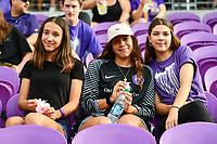 Orlando, FL - Sunday April 14, 2019: 2019 NWSL regular season home opener between the Orlando Pride and the Portland Thorns FC at Orlando City Stadium.  Portland defeated Orlando 2-0.