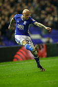 1st November 2017, St. Andrews Stadium, Birmingham, England; EFL Championship football, Birmingham City versus Brentford; David Cotterill of Birmingham City crosses the ball into the box
