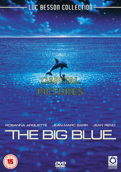The Big Blue (1988) <br /> (Le grand bleu)<br /> DVD COVER ART<br /> *Filmstill - Editorial Use Only*<br /> CAP/KFS<br /> Image supplied by Capital Pictures