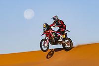 12th January 2020, Riyadh, Saudi Arabia;  27 Rodrigues Joaquim (prt), Hero, Hero Motorsports Team Rally, Moto, Bike, Motul, action during Stage 7 of the Dakar 2020 between Riyadh and Wadi Al-Dawasir, 741 km - SS 546 km, in Saudi Arabia   - Editorial Use