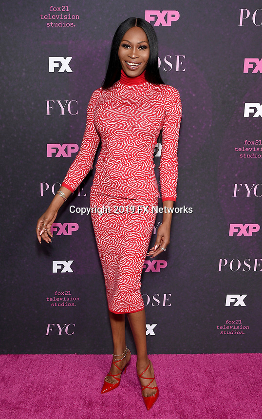 "LOS ANGELES - JUNE 1: Cast member Dominique Jackson attends the FYC Event for Fox 21 TV Studios & FX Networks ""Pose"" at The Hollywood Athletic Club on June 1, 2019 in Los Angeles, California. (Photo by Stewart Cook/FX/PictureGroup)"