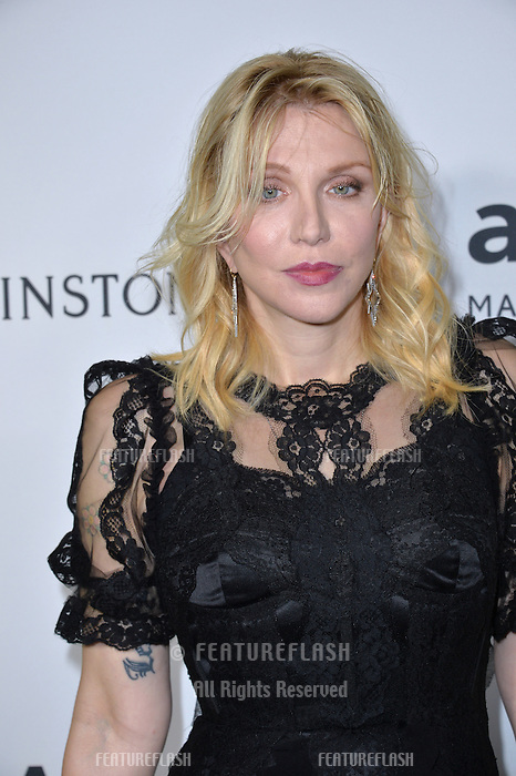 LOS ANGELES, CA. October 27, 2016: Courtney Love at the 2016 amfAR Inspiration Gala at Milk Studios, Los Angeles.<br /> Picture: Paul Smith/Featureflash/SilverHub 0208 004 5359/ 07711 972644 Editors@silverhubmedia.com