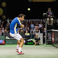ABN AMRO World Tennis Tournament, Rotterdam, The Netherlands, 14 februari, 2017, Ivan Dodig (CRO)<br /> Photo: Henk Koster