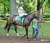 Offlee Golden before The Beautiful Day Stakes at Delaware Park on 7/3/14