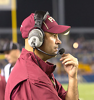 Florida State defensive coordinator. Florida State defeated Pitt 41-13 at Heinz Field on September 2, 2013.