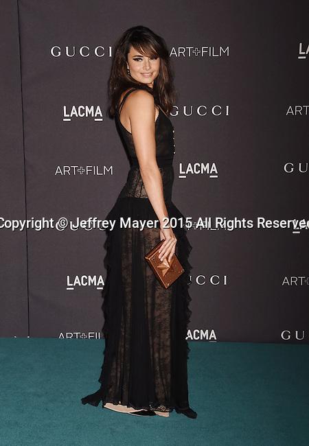 LOS ANGELES, CA - NOVEMBER 07: Actress Mia Maestro attends LACMA 2015 Art+Film Gala Honoring James Turrell and Alejandro G Iñárritu, Presented by Gucci at LACMA on November 7, 2015 in Los Angeles, California.