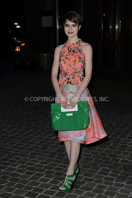 WWW.ACEPIXS.COM . . . . . .March 27, 2013...New York City...Sami Gayle attends a screening of 'The Host' at Tribeca Grand Hotel on March 27, 2013 in New York City. ....Please byline: KRISTIN CALLAHAN - WWW.ACEPIXS.COM.. . . . . . ..Ace Pictures, Inc: ..tel: (212) 243 8787 or (646) 769 0430..e-mail: info@acepixs.com..web: http://www.acepixs.com .