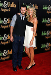 "WESTWOOD, CA. - July 27: Rob McElhenney and Kaitlin Olson arrive at the Los Angeles screening  of ""Julie & Julia"" at the Mann Village Theatre on July 27, 2009 in Westwood, California."