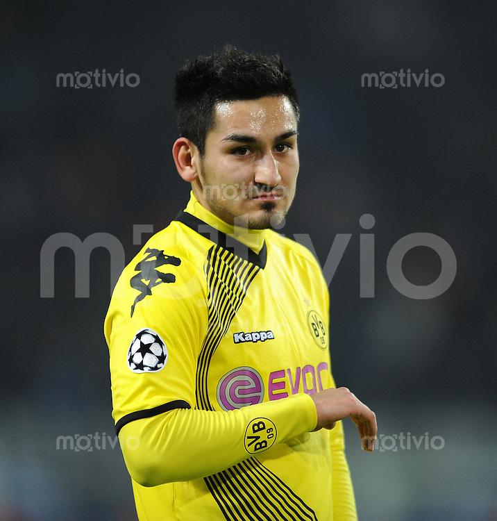 FUSSBALL   CHAMPIONS LEAGUE   SAISON 2011/2012  Borussia Dortmund - Olympique Marseille   06.12.2011 Ilkay Guendogan (Borussia Dortmund)