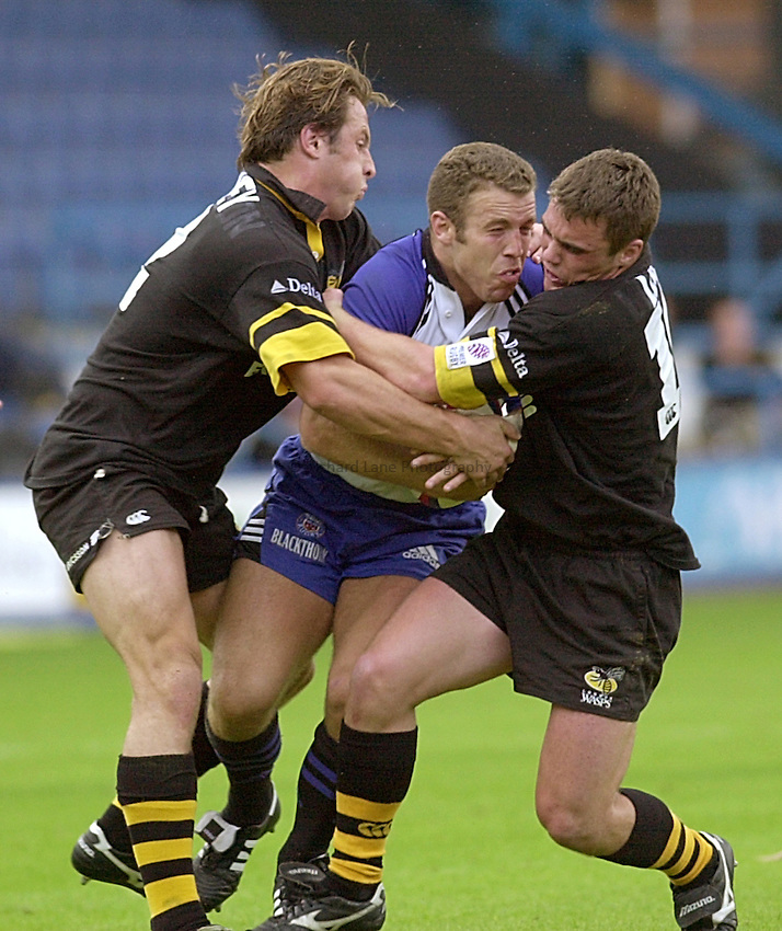 Photo:Ken Brown.27.8.2000 Wasps v Bath.Kevin Maggs