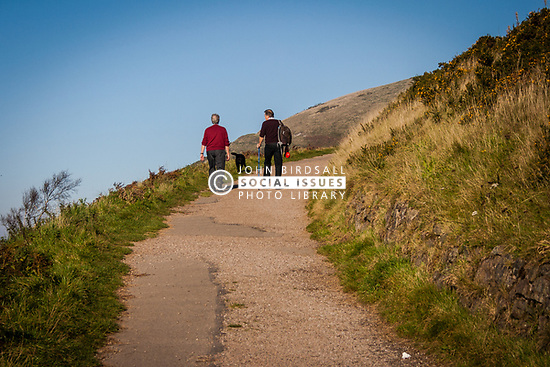 Walking in the Malvern Hills, UK