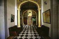 SIRIA  Aleppo ,Hotel Baron, l'ingresso