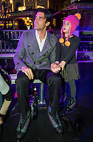 LAS VEGAS, NV - November 20 : Giles Marini and his daughter Jilianna pictured as The Venetian and The Palazzo kick off 2nd annual Winter in Venice on November 20, 2012 at The Venetian in Las Vegas, Nevada.  Credit: Kabik/ Starlitepics / MediaPunch Inc.