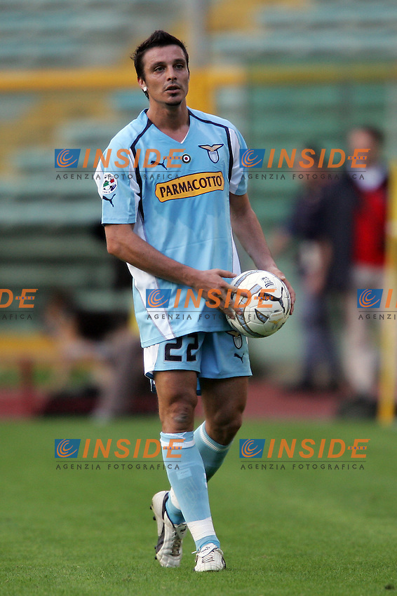 Roma 17/10/2004 Campionati Italiano Serie A - 6a giornata. Lazio Chievo 0-1. <br /> Massimo Oddo Lazio<br /> Foto Andrea Staccioli Insidefoto