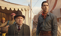 Danny DeVito &amp; Colin Farrell<br /> Dumbo (2019) <br /> *Filmstill - Editorial Use Only*<br /> CAP/RFS<br /> Image supplied by Capital Pictures