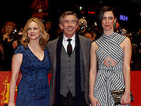 www.acepixs.com<br /> <br /> February 10 2017, Berlin<br /> <br /> (L-R) Actress Laura Linney, actor Steve Coogan and actress Rebecca Hall arriving at the premiere of 'The Dinner' during the 67th Berlinale International Film Festival Berlin at Berlinale Palace on February 10, 2017 in Berlin, Germany.<br /> <br /> By Line: Famous/ACE Pictures<br /> <br /> <br /> ACE Pictures Inc<br /> Tel: 6467670430<br /> Email: info@acepixs.com<br /> www.acepixs.com