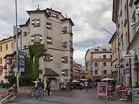 Restaurant Ottoburg,  Herzog-Friedrich-Stra&szlig;e, Innsbruck, Tirol, &Ouml;sterreich, Europa<br /> Restaurant Ottoburg, Herzog-Friedrich St., Innsbruck, Tyrol, Austria, Europe