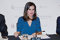 MADRID, SPAIN- February 07: Queen Letizia of Spain at a Meeting of the Board of Trustees of the Teatro Real Foundation at the Royal Theater on February 7, 2019 in Madrid, Spain. h ***NO SPAIN***<br /> CAP/MPI/RJO<br /> ©RJO/MPI/Capital Pictures