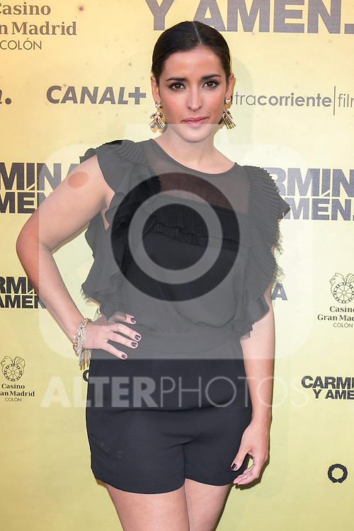 "Spanish Actress Inma Cuesta attend the Premiere of the movie ""Carmina y Amen"" at the Callao Cinema in Madrid, Spain. April 28, 2014. (ALTERPHOTOS/Carlos Dafonte)"