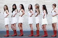 AUSTIN, TEXAS, ESTADOS UNIDOS, 18 NOVEMBRO 2012 - F1 - GP DOS EUA - Modelos durante Grande Premio dos Estados Unidos de Formula, na cidade de Austin no Texas, neste domingo, 18. (FOTO: PIXATHLON / BRAZIL PHOTO PRESS).