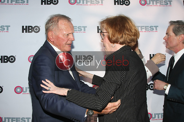Tab Hunter, Carol Burnett<br /> at the &quot;Tab Hunter Confidential&quot; at Outfest, DGA Theater, Los Angeles, CA 07-11-15<br /> David Edwards/DailyCeleb.com 818-249-4998