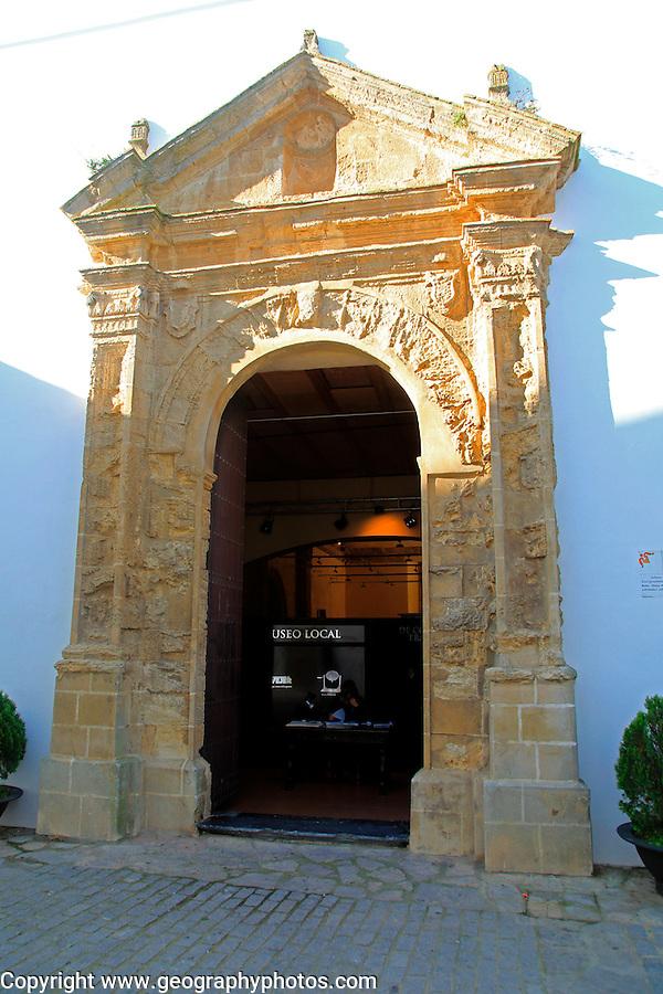 Local museum building, Vejer de la Frontera, Cadiz Province, Spain