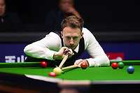 31st October 2019, Yushan, Jiangxi Province, China;  Judd Trump of England competes during the round of 16 match against his compatriot Joe Perry at 2019 Snooker World Open in Yushan