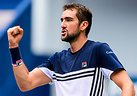 MARIN CILIC (CRO)<br /> <br /> TENNIS - SHANGHAI ROLEX MASTERS - QI ZHONG TENNIS CENTER - MINHANG DISTRICT - SHANGHAI - CHINA - ATP 1000 - 2017 <br /> <br /> <br /> <br /> &copy; TENNIS PHOTO NETWORK