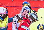 February 5th 2019, Are, Northern Sweden; Lindsey Vonn of the USA after her Crash during the ladies Super-G of the FIS Ski Alpine World Championships 2019 in Aare