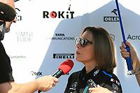 28th November 2019; Yas Marina Circuit, Abu Dhabi, United Arab Emirates; Formula 1 Abu Dhabi Grand Prix, arrivals day; Claire Williams, Deputy Team Principal of ROKiT Williams Racing - Editorial Use