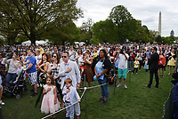 Guests attend  the annual Easter Egg Roll on the South Lawn of the White House  in Washington, DC, on April 17, 2017. <br /> CAP/MPI/CNP/RS<br /> &copy;RS/CNP/MPI/Capital Pictures