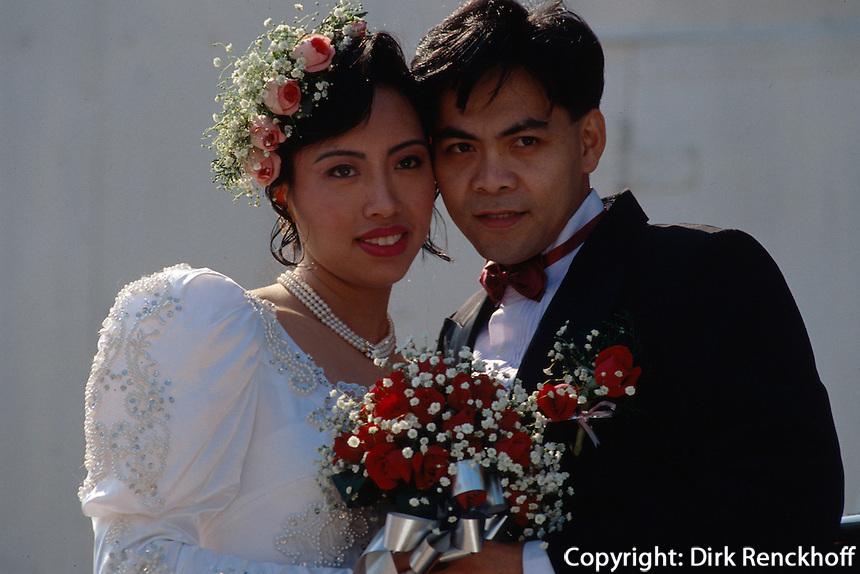China, Hongkong, Hochzeit