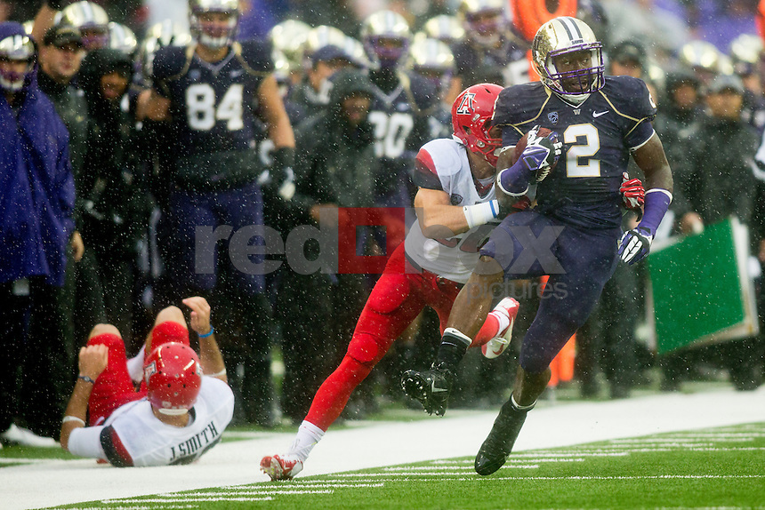 The University of Washington Huskies defeat the Arizona Wildcats 31-13 in Husky Stadium on Saturday September 29, 2013. (Photo by Scott Eklund/Red Box Pictures)