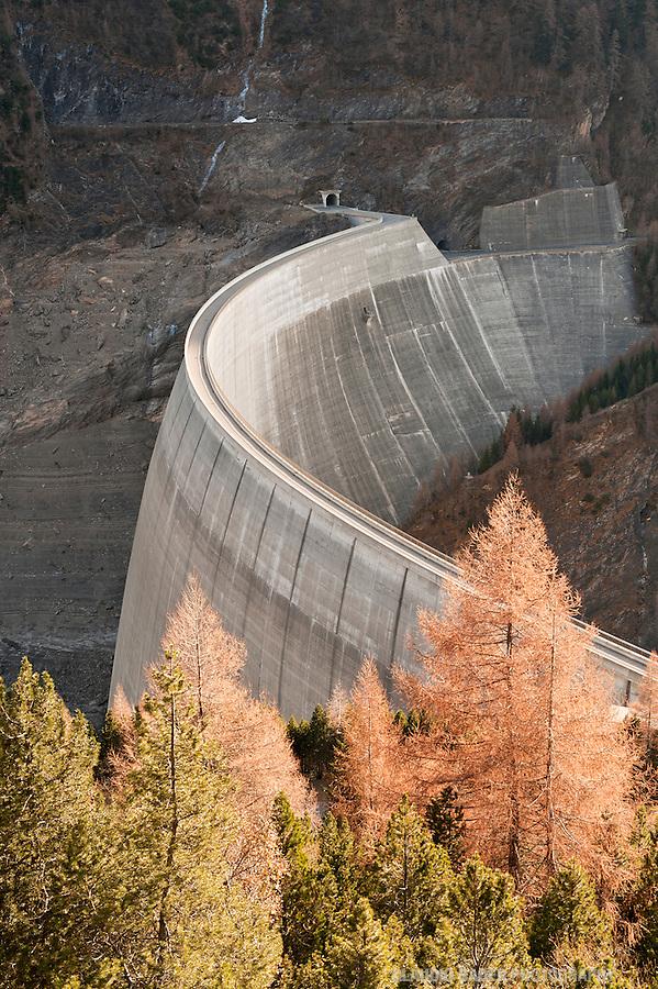 Ofible SA, Diga del Luzzone; Valle Blenio, Dam