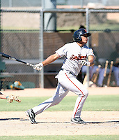 Gabriel Cornier - San Francisco Giants - 2010 Instructional League.Photo by:  Bill Mitchell/Four Seam Images..